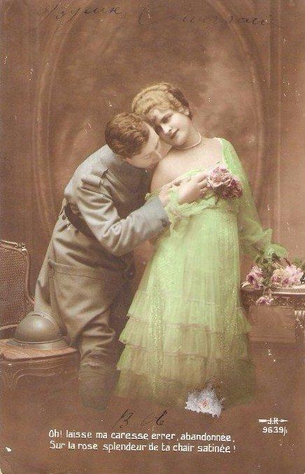 L'amour au temps de nos arrière-grands-parents: le mariage.