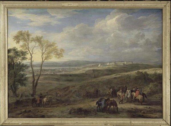 Charnoy, un village qui deviendra Charleroi.