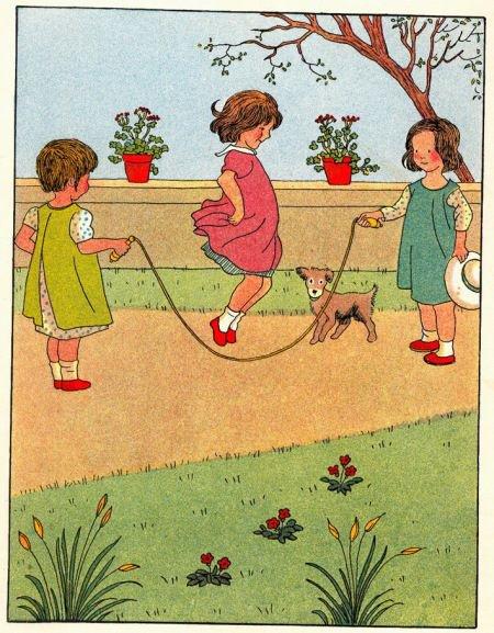 Jeux d'enfants, il n'y a pas si longtemps que cela....