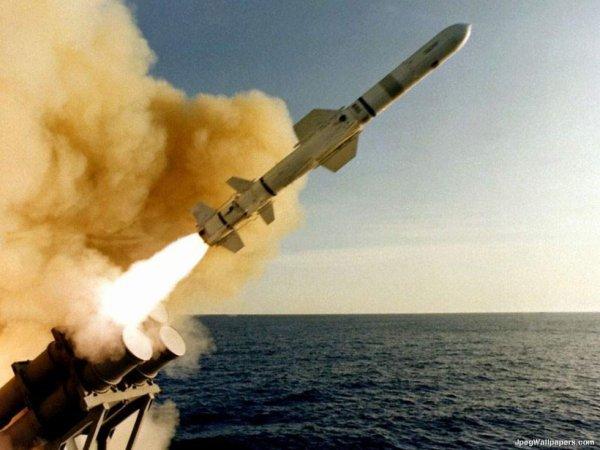 Missile BGM-109 Tomahawk.