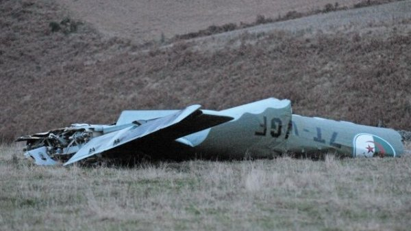 Le givre à l'origine du crash de l'avion militaire algérien en novembre 2012.