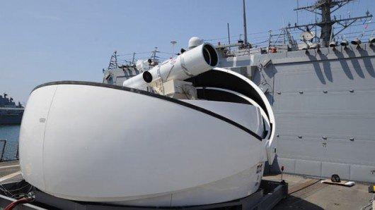 La nouvelle arme laser de l'US Navy bientôt opérationnelle.