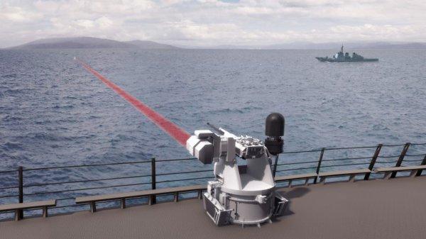 Boeing et BAE s'associent sur un projet d'arme laser tactique pour la marine américaine .