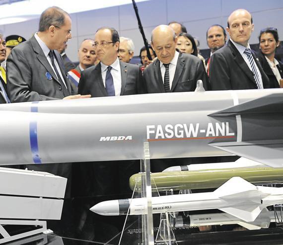 Un missile pour structurer MBDA.