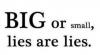 Au fond mentir c'est comme dire la vérité a l'envers... -> By me
