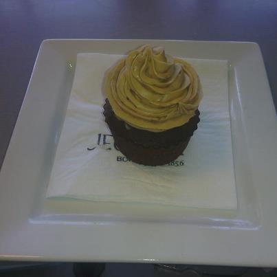 Cupcake crème à la praline