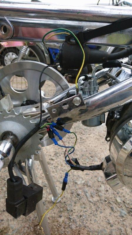 branchement moteur