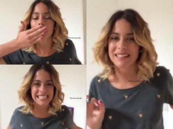 New: Tini avant de répéter pour « Ballando con Le Stelle » + 7 nouvelles photos personnelles de la Belle Martina +  Les 3 premieres minutes de Violetta 3 Traduit en Francais