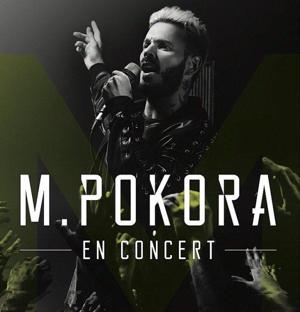 M.Pokora de retour sur scène en 2017 !