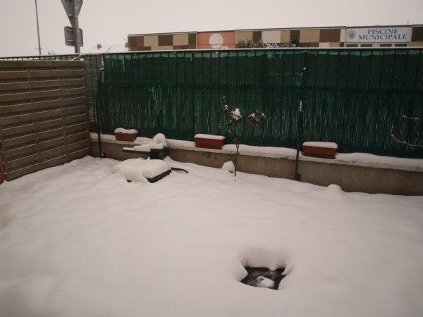 région dunkerquoise sous la neige !!!