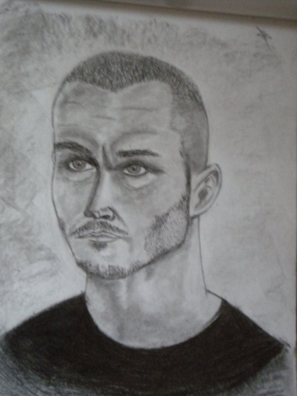 new dessin de randy orton ^^