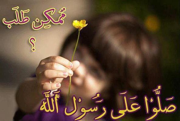 صلي على حبيب الانام محمد عليه الصلاة و السلام