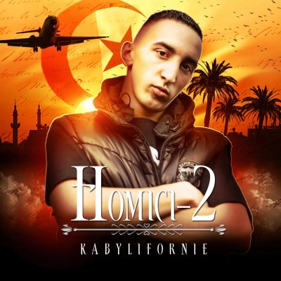 KABYLIFORNIE / Homici-2 - Smoke Chicha Every Day  (2011)