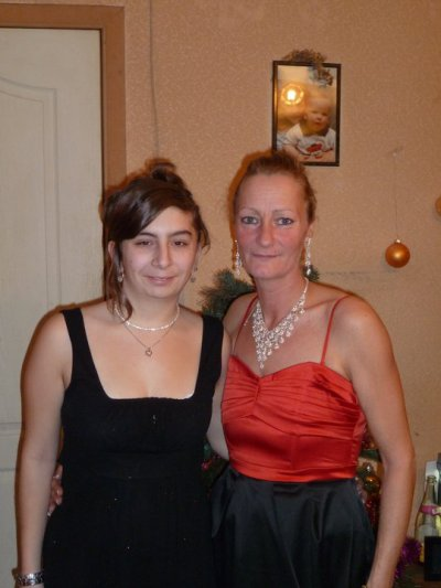 katty (ma belle maman) et moi