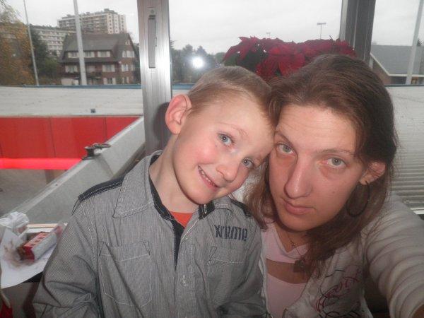mon fils matheo et moi