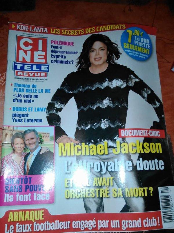 revue avec michael jackson a vendre pour les collectionneur