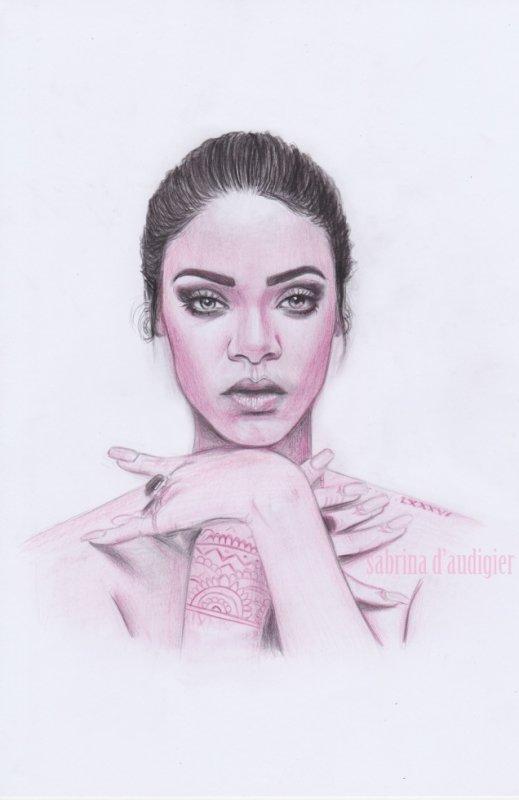 nouveau portrait de Rihanna !