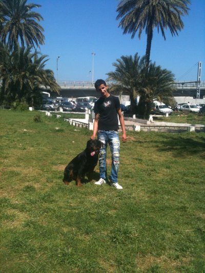 . . . This is Me with my Dog . .