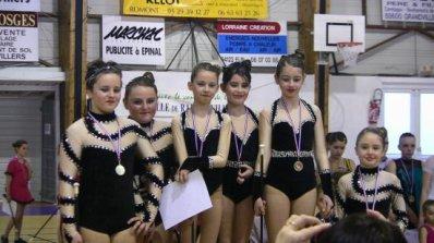 Mon équipe 2011 de twirling .