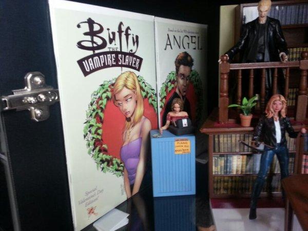 Edition saint Valentin buffy et angel
