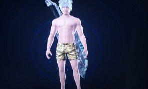Xenoblade Chronicles X: Setsuna (c'est mon personnage ^^)