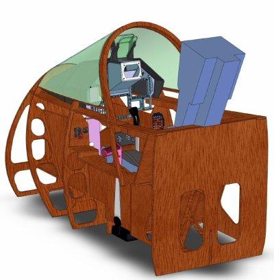 Cockpit mirage 2000-5F FSX