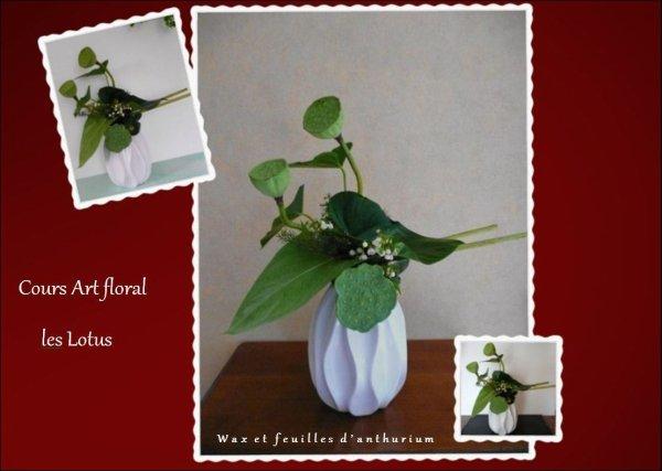 Bouquet en vert et blanc