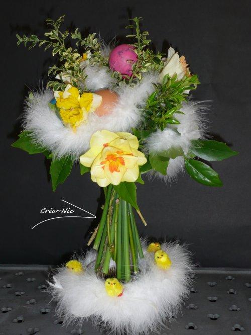 Bouquet Pascal rond