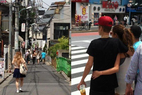2 autres photos de Jelena au Japon !