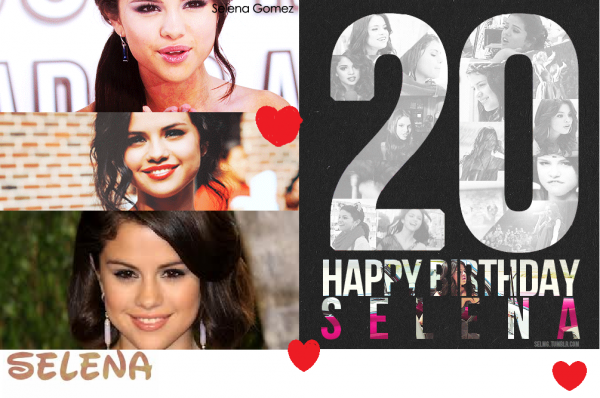 selena happy birthday