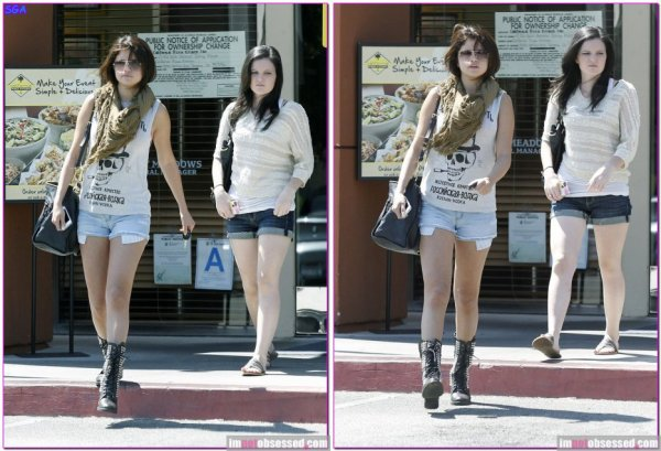 selena et ashley dans los angeles