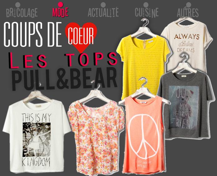 Les tops PULL&BEAR