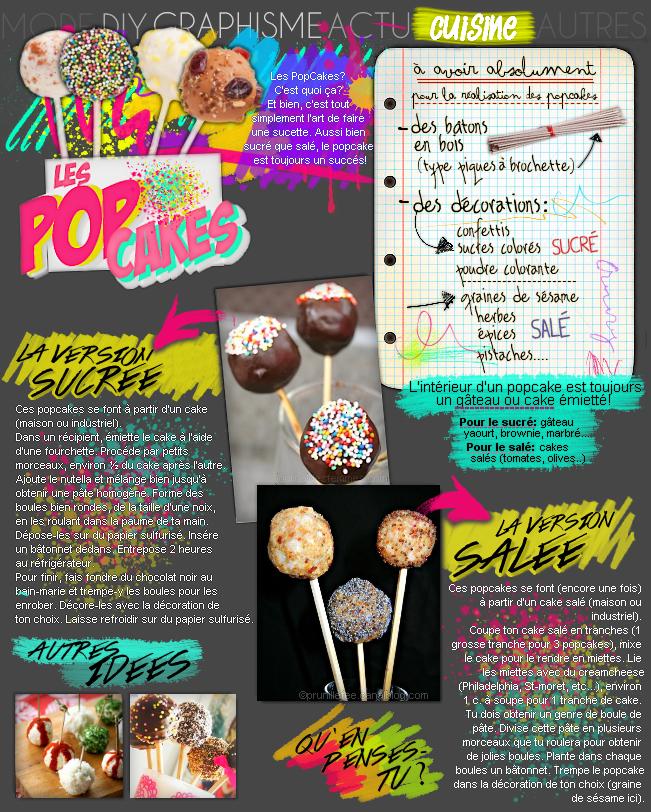 CUISINE : Les popcakes.