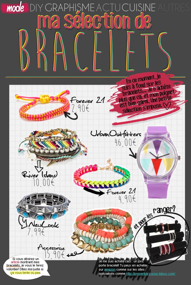MODE : Sélection de bracelets