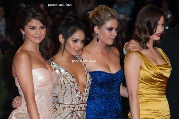 Selena gomez et Vanessa hudgens .