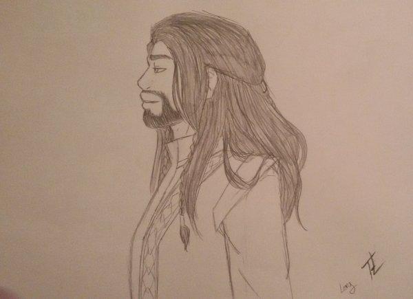 Dessin de Thorin ! x'3