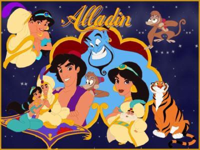 Aladdin Disney Personnages aladdin - tous les dessins animé disney
