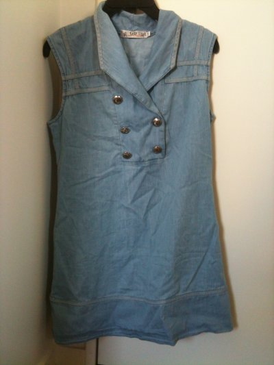 Robe jean Taille S/M 15¤
