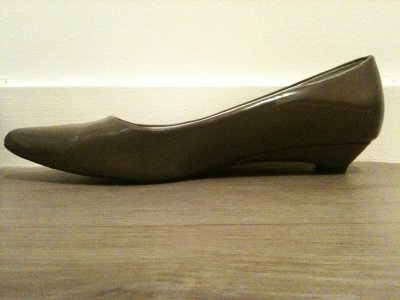 8¤ Ballerines grises Taille 38
