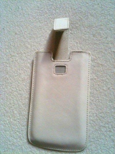 Housse iphone 3 en cuir ~ 8¤