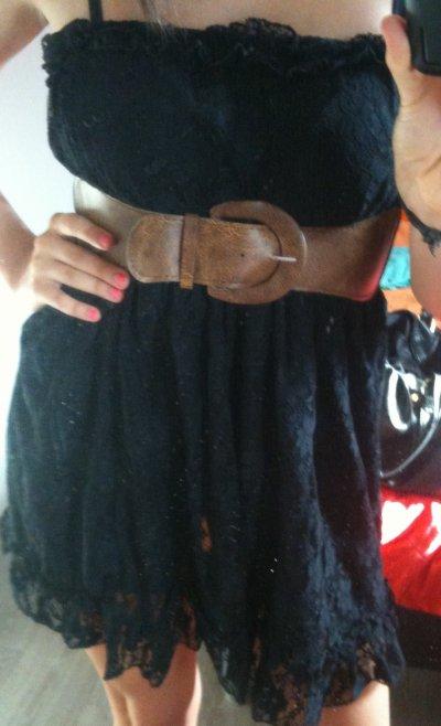 Robe bustier dentelle (SANS LA CEiNTURE) ~ 12¤