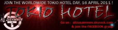 Projet Journee Mondiale pour Tokio Hotel. ^^
