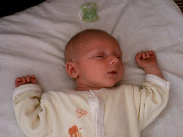 voila mon fils a 15 jours