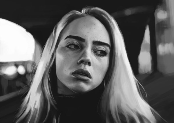 Dessins Billie Eilish