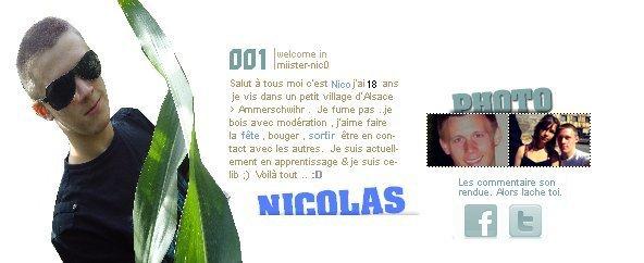 { ~  ~ > Nic0  <  ~  ~ }