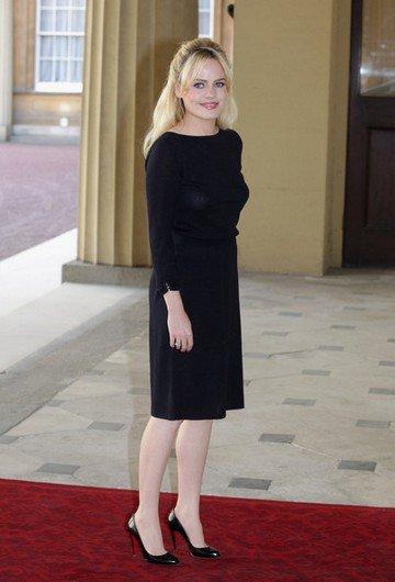 Duffy rencontre la reine à Buckingham Palace à Londres, le 9 mai 2011.