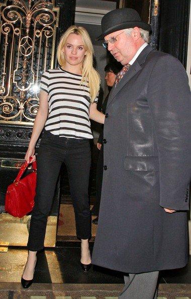 La chanteuse Duffy a été vue quittant le Scott's Restaurant, le 1 septembre 2011.