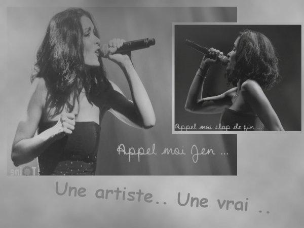 Une amour d'une artiste ..