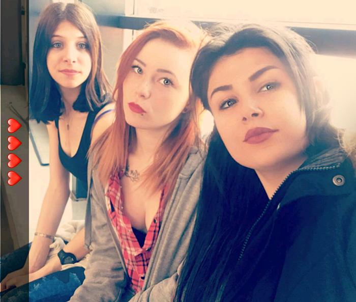 Jessica, Maud & Nafissa