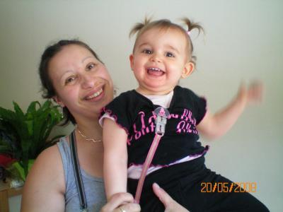 ma nièce Océanne et moi